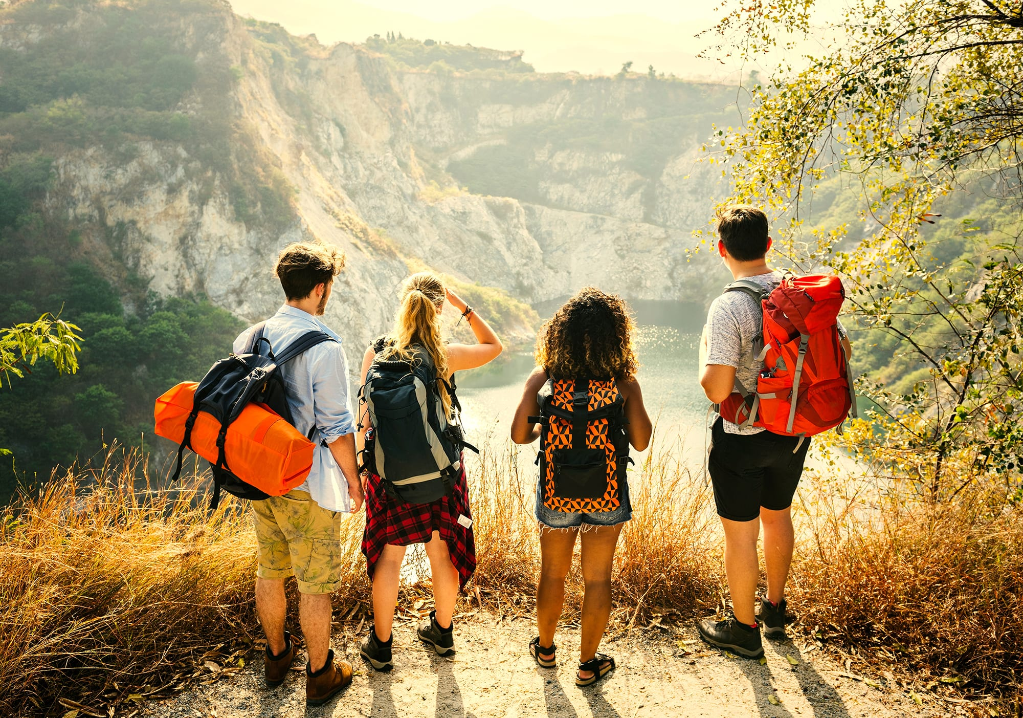 Students on a gap year