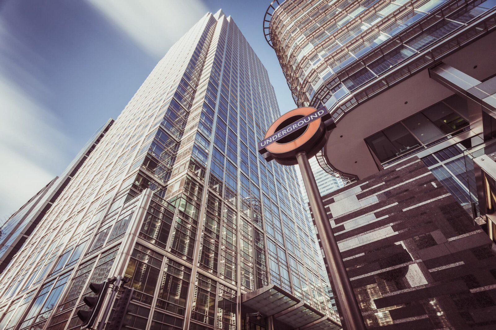 Underground business district